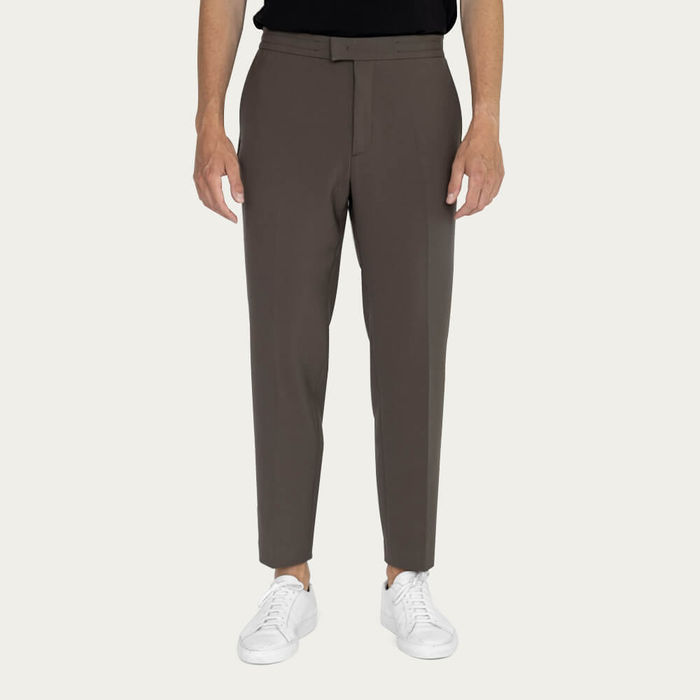 Black/Taupe Easy Tailored Trouser - Pack of 2   Bombinate