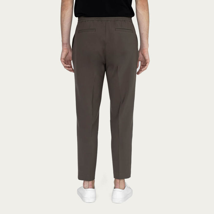 Navy/Taupe Easy Tailored Trouser - Pack of 2   Bombinate