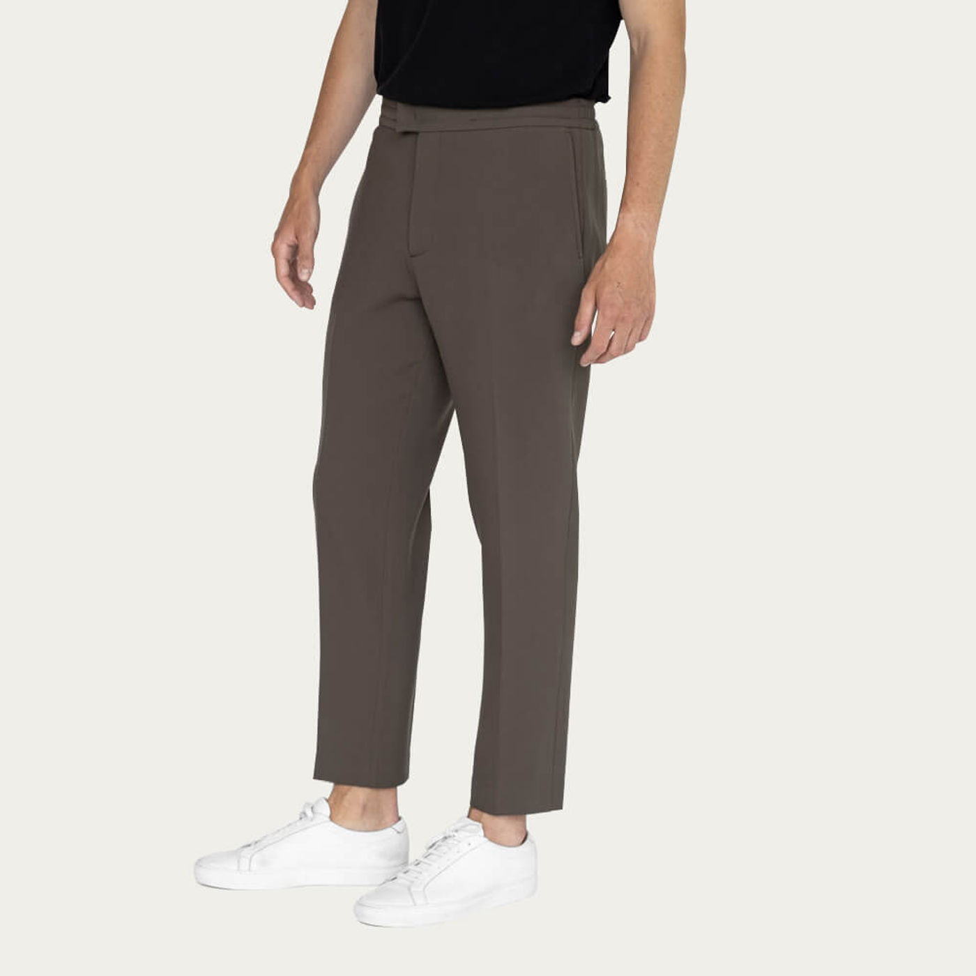Charcoal/Taupe Easy Tailored Trouser - Pack of 2 | Bombinate