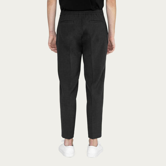 Navy/Charcoal Easy Tailored Trouser - Pack of 2 | Bombinate