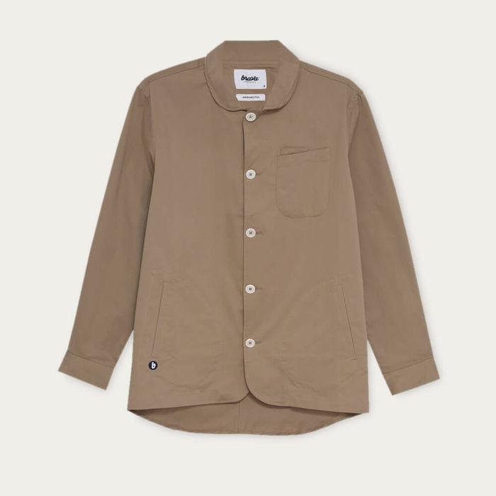 Beige Lightweight Cotton Jacket | Bombinate