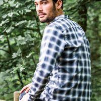Grey Stripe Shirt  | Bombinate