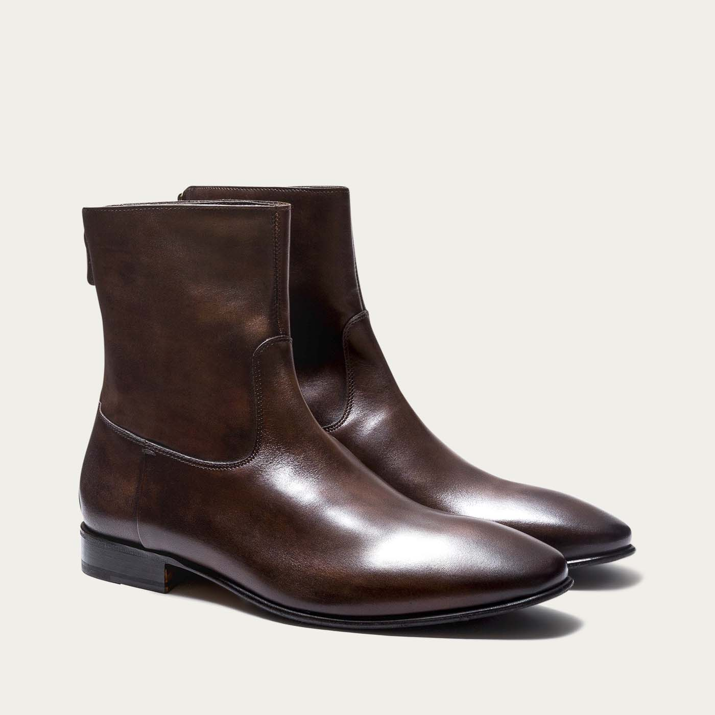 Dark Brown Rosewood Mac Gill Boots 2