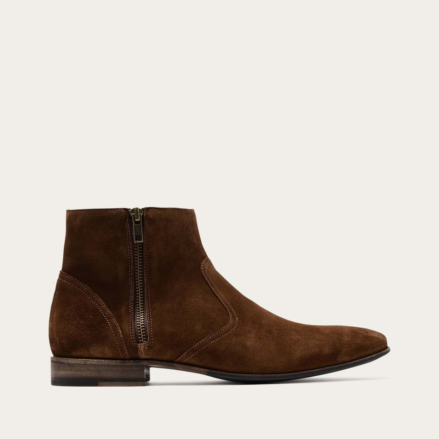 Brown Suede Hurricane Sigaro Boots | Bombinate