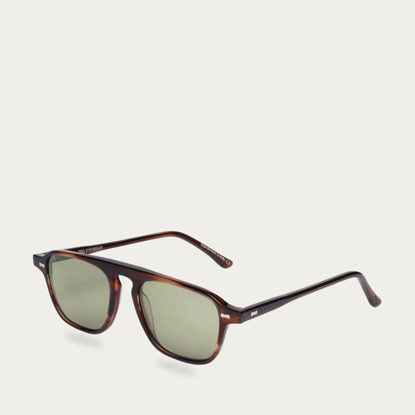 Havana /Bottle Green Panama Sunglasses | Bombinate
