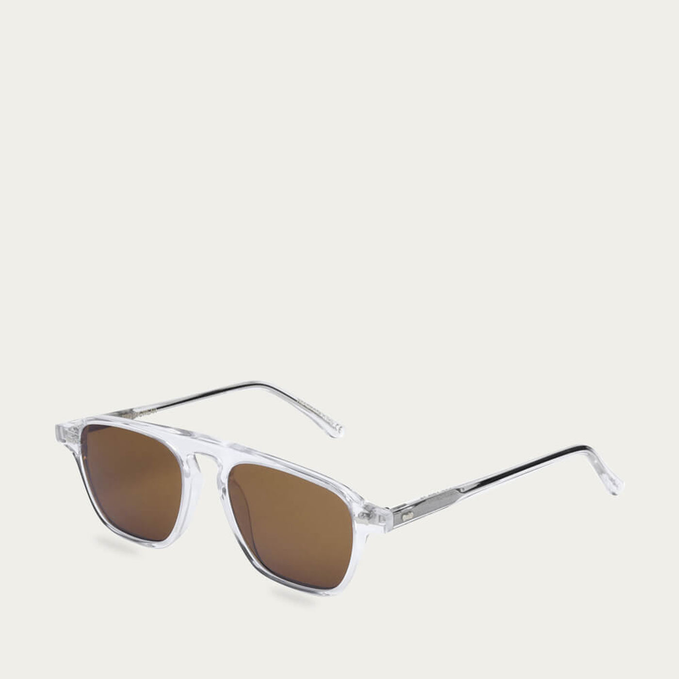 Transparent /Tobacco Panama Sunglasses | Bombinate