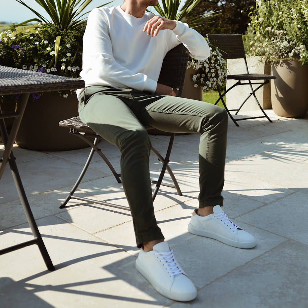 White Series 8 Sneakers | Bombinate