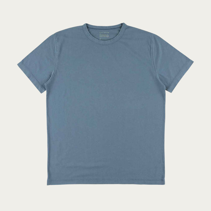 Blue Mirage Crew Neck T-Shirt | Bombinate