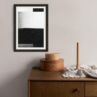 Research N°003 Art Print Black Frame   Bombinate