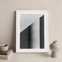 Research N°004 Art Print White Frame   Bombinate