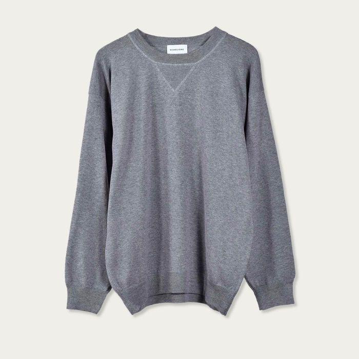 Grey Cotton Sweatshirt | Bombinate