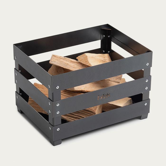 Corten Steel / Rusty Crate Fire Basket | Bombinate
