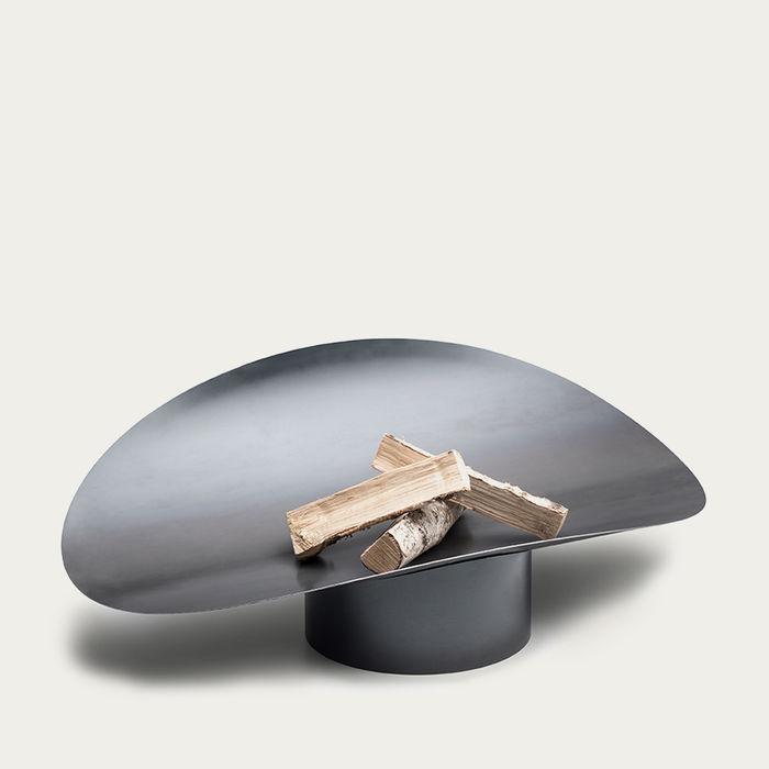 Corten Steel / Rusty Ellipse Firebowl   Bombinate