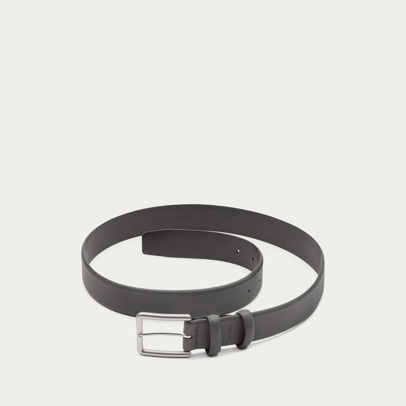 Grey Javier Handmade Leather Belt   1