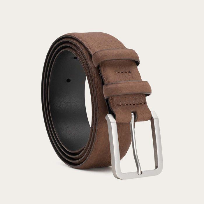Brown Mathis Handmade Leather Belt | Bombinate