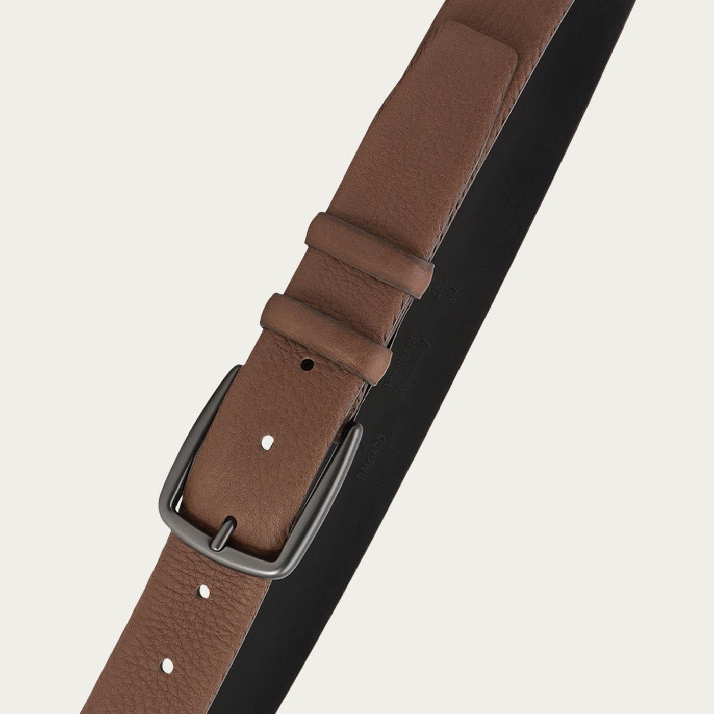 Brown Matthieu Handmade Leather Belt  2