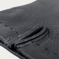 Blue Emanuele Handmade Deer Leather Gloves  3