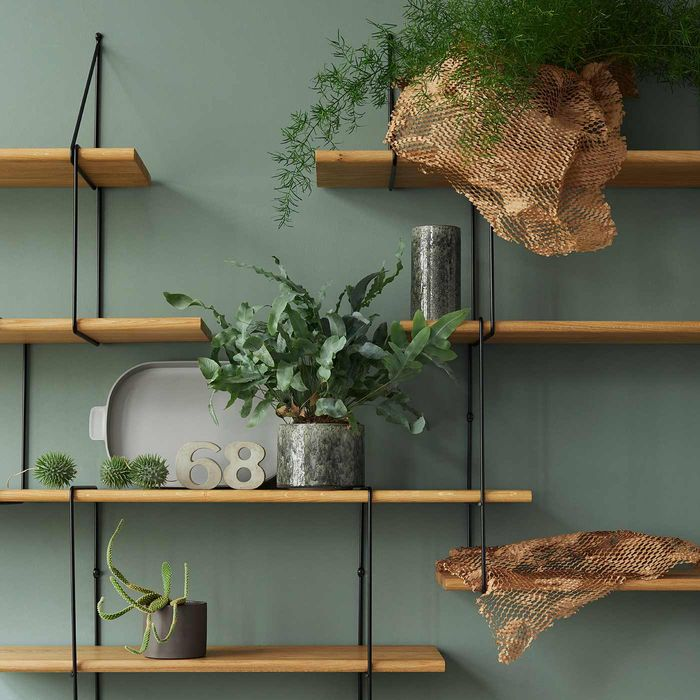 Oak / Black LINK Set DUO Shelf | Bombinate