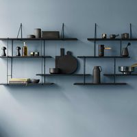 Black / Black LINK Set DUO Shelf | Bombinate