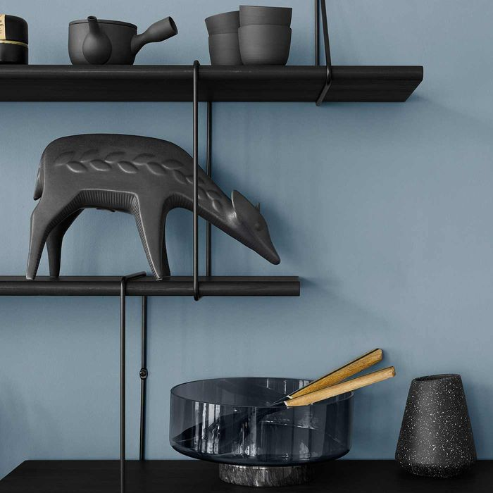 Black / Black LINK Set TRIO Shelf  | Bombinate