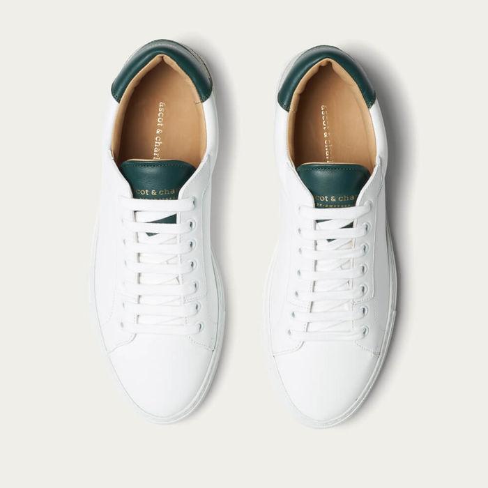 Dark Green Lione Sneakers   Bombinate