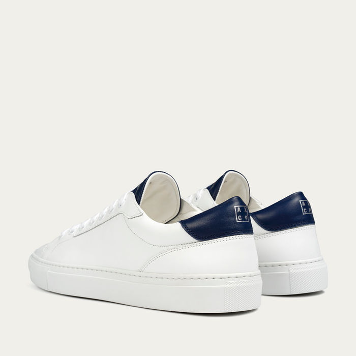 Navy Lione Sneakers | Bombinate