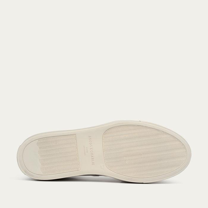 White Nappa Mono Sneaker | Bombinate