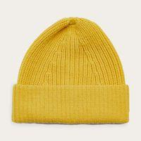 Yellow Merino Tuck Rib Beanie | Bombinate
