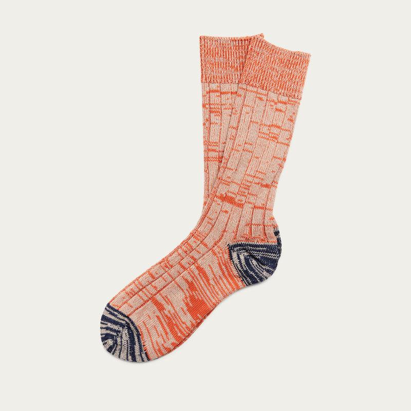 Orange Mix Cotton Socks  | Bombinate