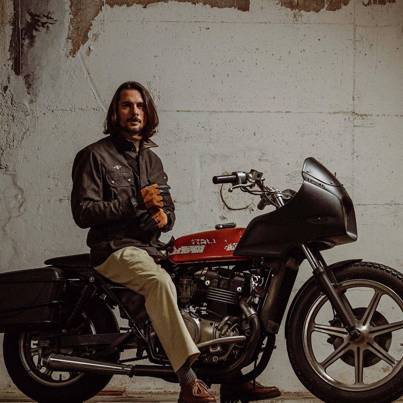 Deep Brown Explorator Waxed Canvas Jacket   Bombinate