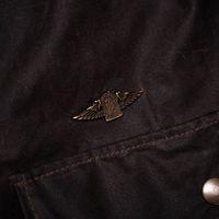 Deep Brown Explorator Waxed Canvas Jacket | Bombinate