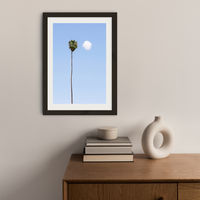 Conversation Art Print Black Frame | Bombinate