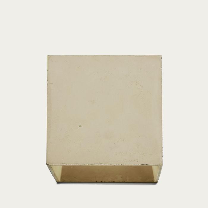 Dove Grey Cromia Concrete Wall Lamp | Bombinate