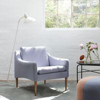 Soft Violet Mr. Olsen Lounge Chair | Bombinate
