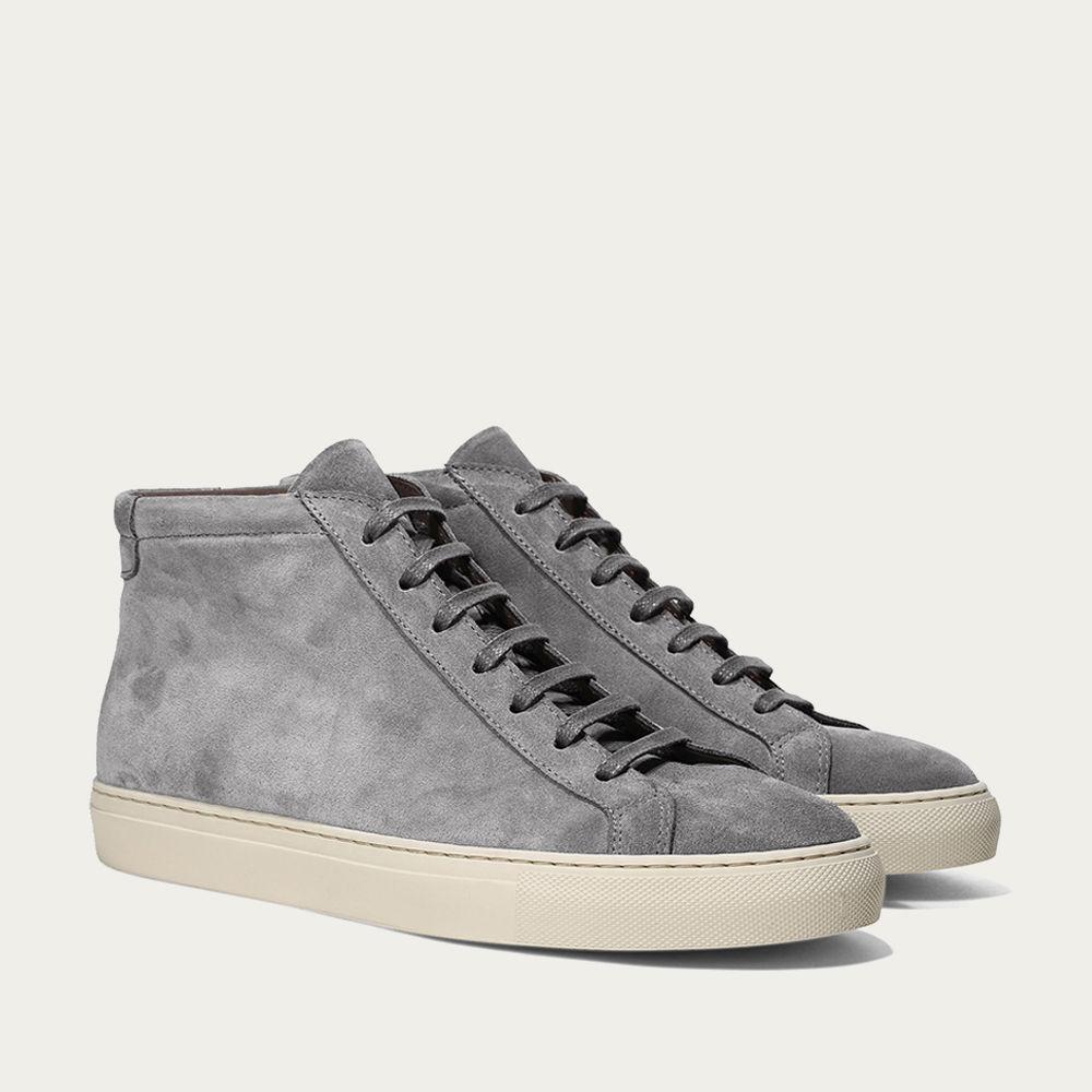 Grey Cambridge High Sneaker   Bombinate