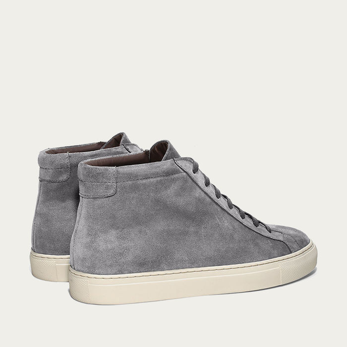 Grey Cambridge High Sneaker | Bombinate
