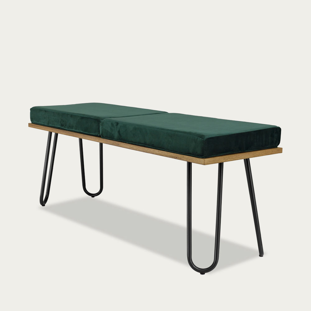 Green Bench Corgi I Black FST0253 | Bombinate