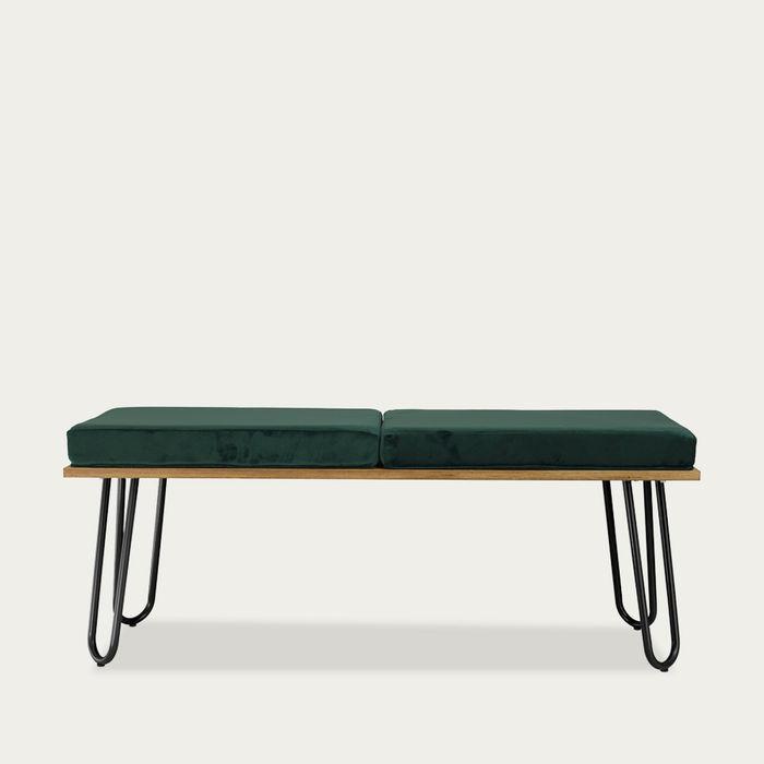 Green Bench Corgi I Black FST0253 | Bombinate