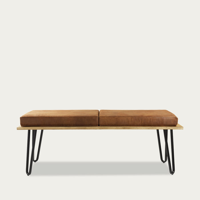 Brown Bench Corgi With Two Cushions FST0251 | Bombinate