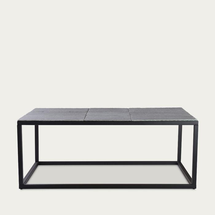 Graphite Coffee Table Zen A-1 Black Frame FCT0273 | Bombinate