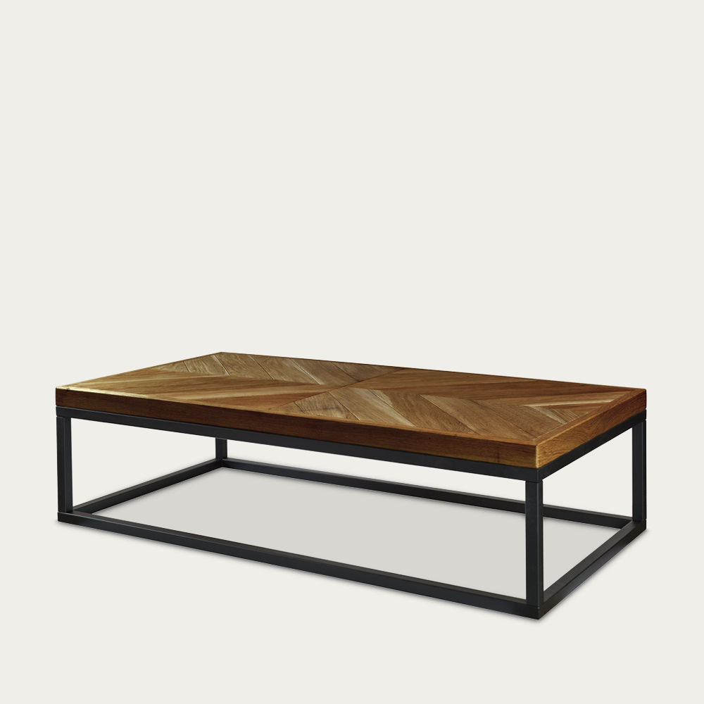 Brown Coffee Table Zig-Zag A-II FCT0282 | Bombinate