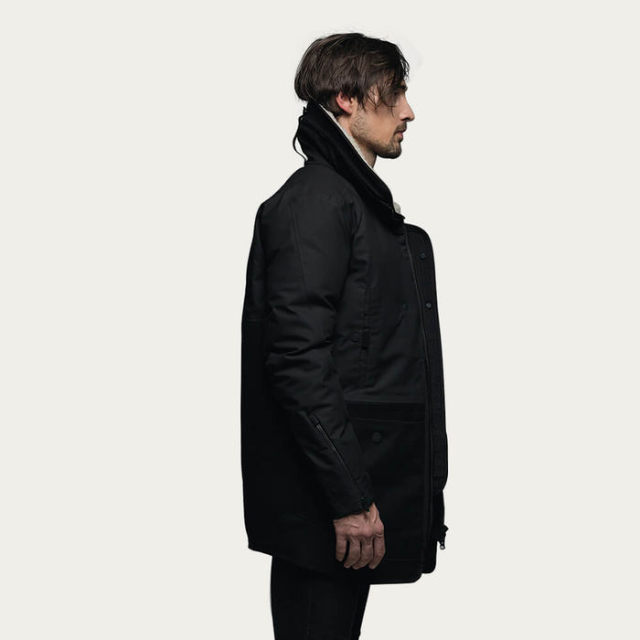 Black Hybrid Coat T2   Bombinate