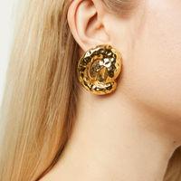 Gold Nella Earrings | Bombinate