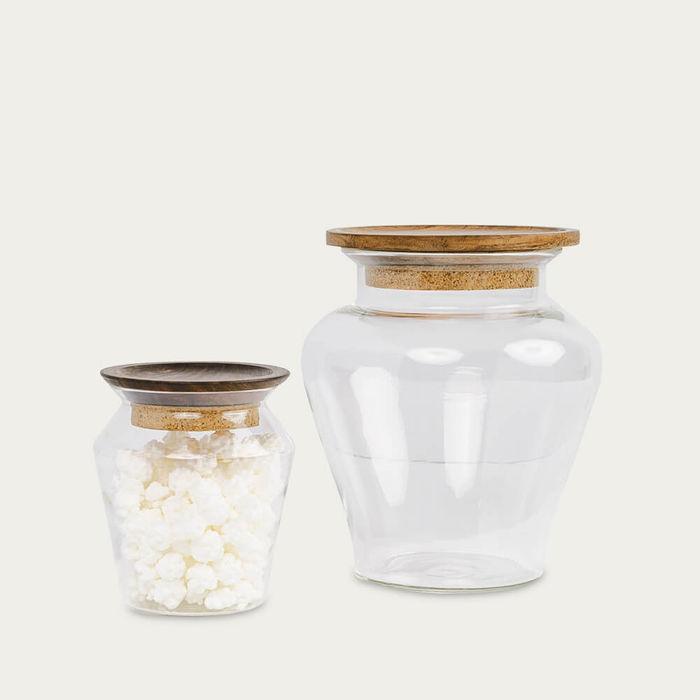Kosa Glass Jar | Bombinate