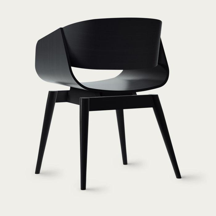 Black 4th Armchair | Bombinate