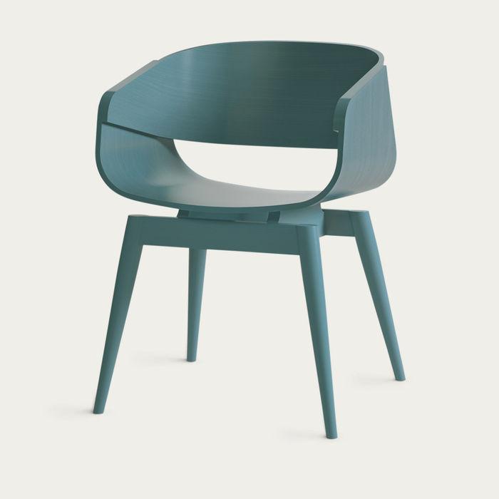 Blue 4th Armchair | Bombinate