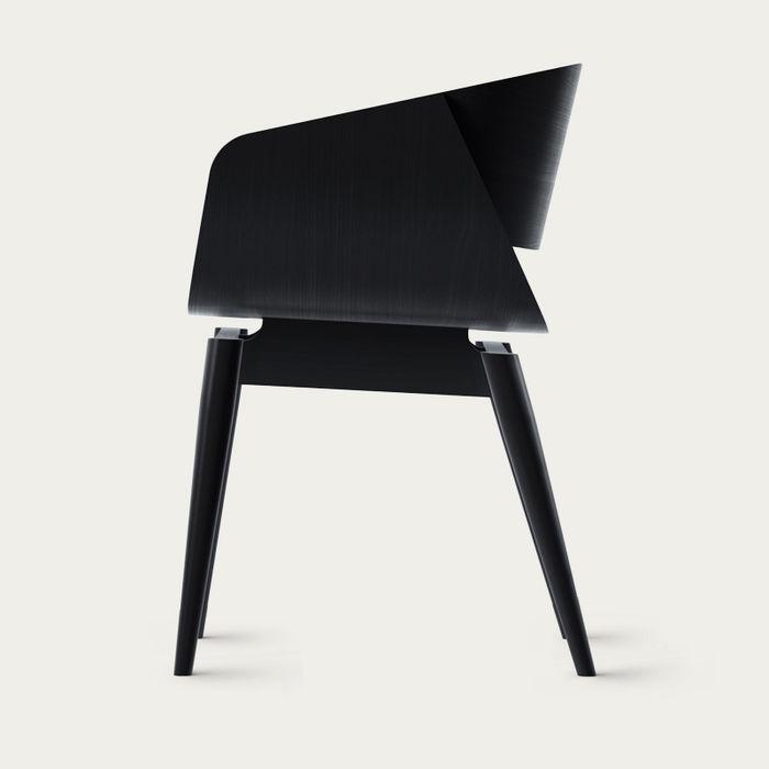 Black 4th Armchair Color Soft | Bombinate