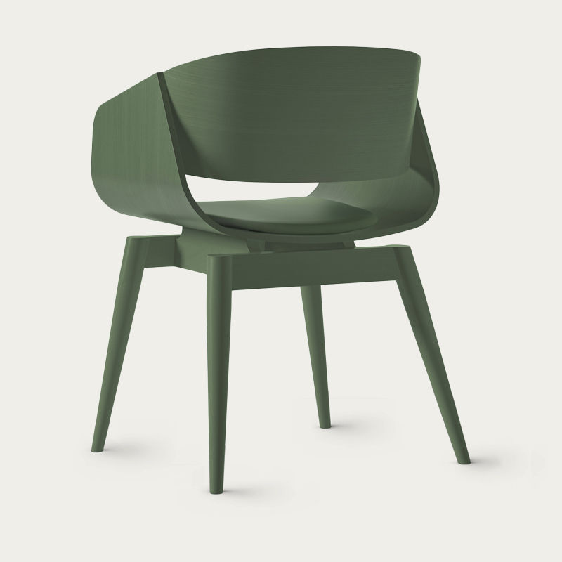 Green 4th Armchair Color Soft | Bombinate