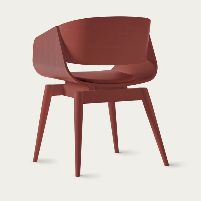 Red 4th Armchair Color Soft | Bombinate