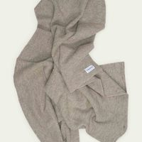 Light Grey Shetland Blanket  | Bombinate